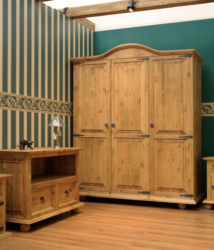 Aranżacja sypialni w stylu rustykalnym