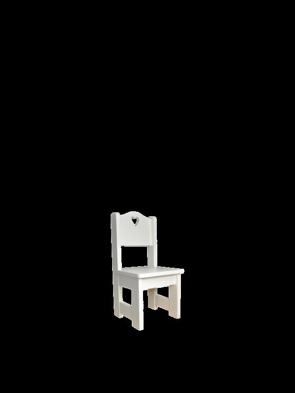 Krzesło białe dziecięce