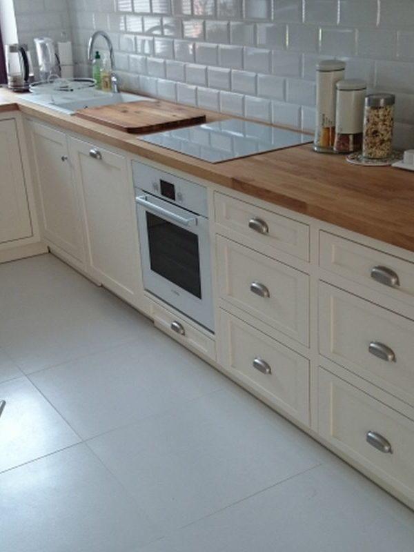 Kuchnia drewniana skandynawska