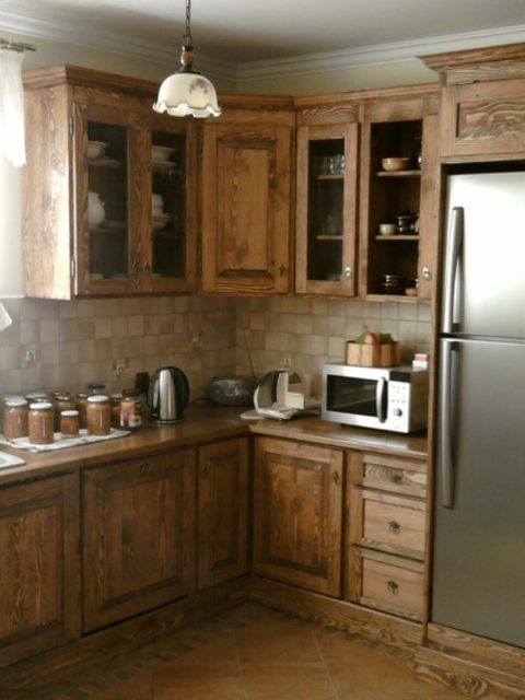 Kuchnia drewniana wiejska