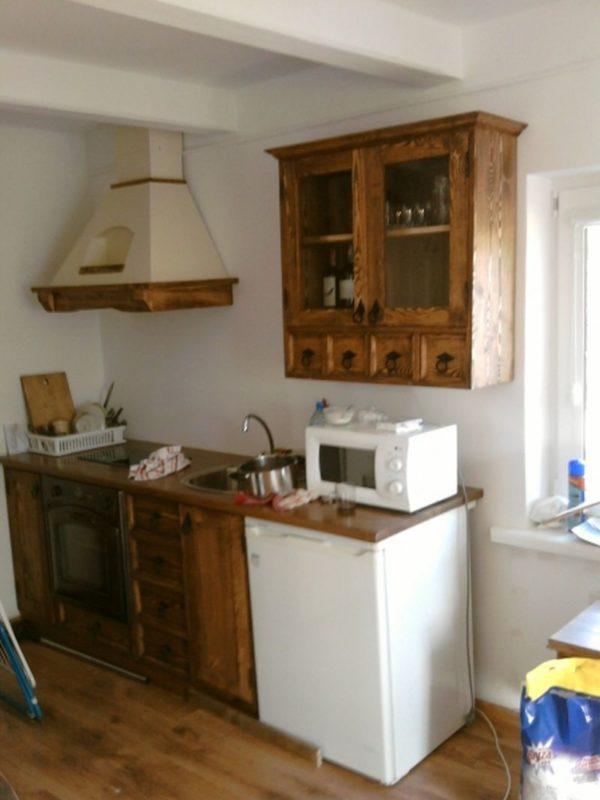 Kuchnia drewniana wiejska dacza